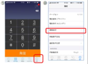 電話番号の設定(1)